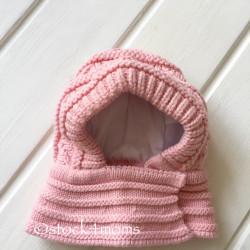 Шапка-шлем (капор), цвет...