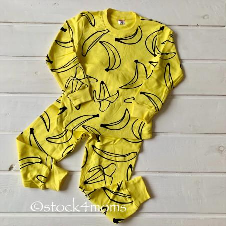 Пижама (бананы, жёлтый)