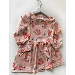 Платье лисички