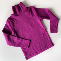 Водолазка, цвет фиолетовый