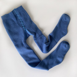 Колготки махровые, цвет джинс