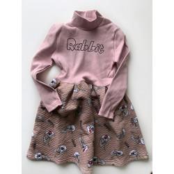 Платье Rabbit пудра