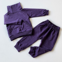 Костюм Фиолетовый (футер...