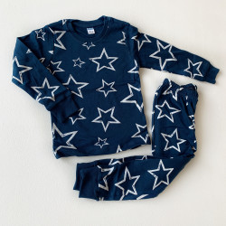 Пижама звезды, тёмно-синий
