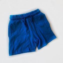 Шорты с карманами, цвет синий
